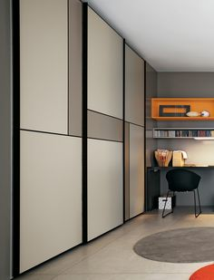 Amazing Sliding Door Wardrobe Design Ideas Built-in wardrobes offer convenience to many households. A built-in wardrobe saves up a lot of space and gives your home … Sliding Door Wardrobe Designs, Wardrobe Design Bedroom, Sliding Closet Doors, Bedroom Bed Design, Bedroom Furniture Design, Closet Designs, Modern Wardrobe, Wardrobe Closet, Wardrobe Ideas