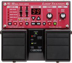 Boss RC-30 Loop Station - Pedales de guitarra