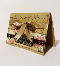 Geburtstagskarte mit Spitze & Schleife von POMMPLA auf DaWanda.com