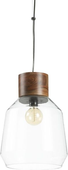 loft pendant lamp  | CB2 // obsessed with these, which are reminiscent of mason jars but are more timeless to last past the trend $149