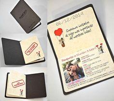 tarjetas de matrimonio pasaporte - Buscar con Google