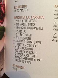 Bieten quinoa salade van Rens Kroes