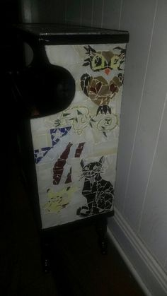 Mosaic Bookcase side#2