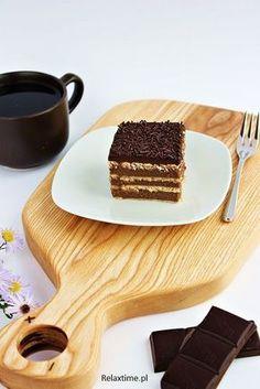 Proste i szybkie ciasto czekoladowe bez pieczenia | Relaxtime Tiramisu, Food And Drink, Baking, Ethnic Recipes, Bakken, Tiramisu Cake, Backen, Sweets, Pastries
