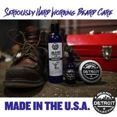 A lot of beard products claim to be hard working but you'll find yourself having to reapply all day long. Like the city that bears its name Detroit Beard Collective is formulated to be the hardest working beard care available. See for yourself at http://ift.tt/1CwcfXn and enjoy 20% off your first order with code 'tryDBC' #beard #bearded #beardup #reallmenhavebeards #bluecollarbeard #bluecollarbeardcrew #beardcrate #beardgrooming #mensgrooming #mensessentials #mensgroomingproducts #beardcare…