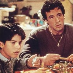 ROCKY V supper table.