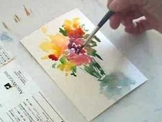 Painting a tree. - YouTube