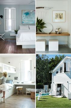 This charming beach house, located in Sydney , was once a fisherman's cottage. The beach side mood can be found...