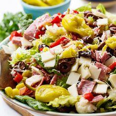 Muffaletta Salad - Spicy Southern Kitchen