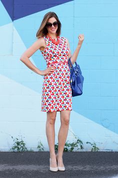 O que eu usava: Arco-íris brilhante, Jessica Quirk, whatiwore.tumblr.com