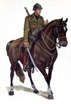 Greek cavalryman 1940, pin by Paolo Marzioli