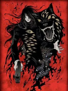 Imagen de alucard, hellsing, and anime