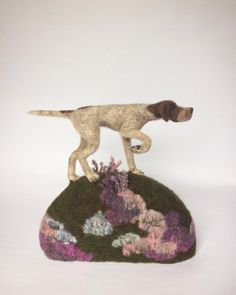 Needle felted Pointer