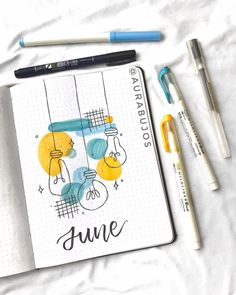 Bullet Journal Month, Bullet Journal Writing, Bullet Journal Cover Page, Bullet Journal Aesthetic, Bullet Journal School, Bullet Journal Themes, Bullet Journal Spread, Bullet Journal Inspo, Bullet Journal Layout