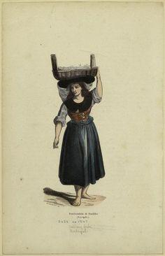 Pescivendola Di Pardilho (Portogallo). From New York Public Library Digital Collections.