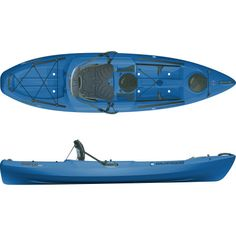 I WANT!!!  This model and the tribe work best for bringing my first mate Norwood with me. Wilderness SystemsTarpon 100 Kayak - Sit-On-Top