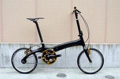 BOMA carbon fiber folding bike. 7.2kg