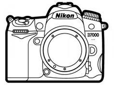 Nikon D7000 line art