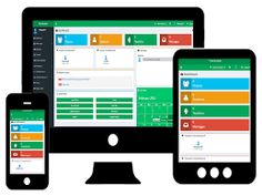 The management can evaluate the performance of the staff and students with a single dashboard.