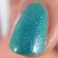 Macro of LynBDesigns Shedd Some Light Swatch, Polish, Nails, Beauty, Collection, Beleza, Varnishes, Ongles, Finger Nails