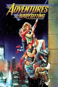 adventures in babysitting Why it's still good: This movie just has some kind of kid magic—guarantee, they will think it's the funniest thing they've ever seen. Be aware: Younger kids will also love this movie if you allow it, but there's a Playboy magazine and sexual themes.