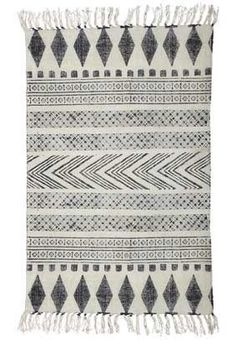 House Doctor Block Rug -  Large $510