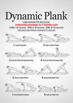 30 day plank challenge  for beginners  workouts