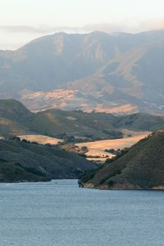 Lake Cachuma in the Santa Ynez valley.  Or as I like to call it...Wine Country!