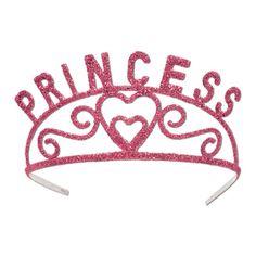 LOL Pink Glittered Princess Tiara #Princesses