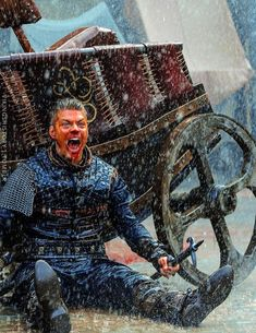 Ivar the Boneless and Heahmund in the first images of Vikings season 5