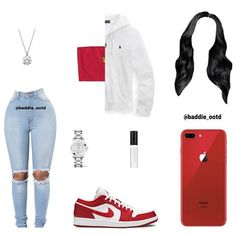Swag Outfits For Girls, Casual School Outfits, Cute Swag Outfits, Girls Fashion Clothes, Teenage Girl Outfits, Trendy Outfits, Fashion Outfits, Black Girl Fashion, Teen Fashion