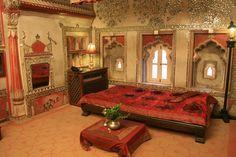 Traditional Indian luxury bedroom