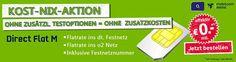 Festnetznummer mit Festnetz Flatrate für rechnerisch 0 EUR http://www.simdealz.de/o2/festnetznummer-mit-festnetz-flatrate-fuer-0-eur-13kw36/ Mehr dazu hier: http://www.simdealz.de/o2/festnetznummer-mit-festnetz-flatrate-fuer-0-eur-13kw36/