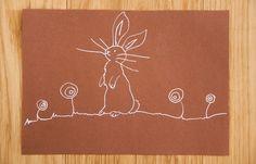 Osterkarten basteln - Wenn ihr mehr Ideen sucht, was man zu Ostern basteln kann oder Sachen rund ums Fest (Ostern Tischdeko, Ostern Rezepte) oder einfach die DIY zur Osterkarte sehen wollt - gibt es alles auf http://www.meinesvenja.de/2014/04/09/osterkarten-basteln/ Happy Easter!