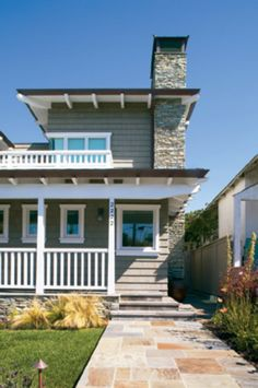Nice Exterior Design...New Construction Cape Cod Style Home, Love It! :)