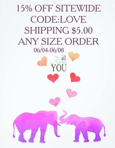 15% off, plus $5 shipping on All About You.