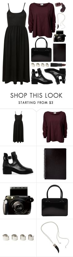 """""""Equinox"""" by deca-froses ❤ liked on Polyvore featuring Topshop, MANGO, Chanel, Fujifilm, Thierry Mugler, Maison Margiela, H&M and NARS Cosmetics"""