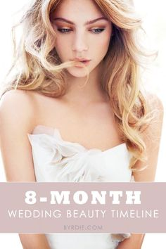 ultimate wedding beauty timeline - everything you need to do and when to do it before getting married. //The ultimate wedding beauty timeline - everything you need to do and when to do it before getting married. Bridal Beauty, Wedding Beauty, Dream Wedding, Wedding Day, Beauty Routine Before Wedding, Wedding Prep, Wedding Tips, Wedding Planning, Wedding Timeline