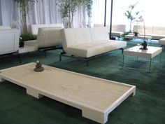 Throwback to the lovely all white lounge at HTC Rock the Dock from 2011! #lounge #zen #white