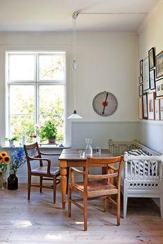 1890 Swedish Schoolhouse Turned Home | Gunnel Sahlin (Elle Interiors Sweden)