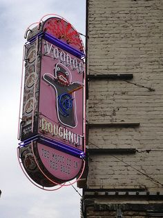 Voodoo Doughnut - Portland, Oregon...pit stop before our train ride to Seattle!?