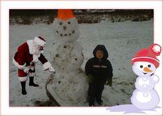 Silkki's Reviews: Additions to our Christmas Photos from iCaughtSanta.co Christmas Photos, Snowman, Outdoor Decor, Home Decor, Xmas Pics, Christmas Pics, Decoration Home, Room Decor, Christmas Pictures