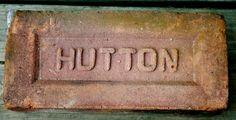 VINTAGE 100+ YR. OLD HUTTON BRICK FREE SHIPPING! KINGSTON HUDSON NY  BEACON NY