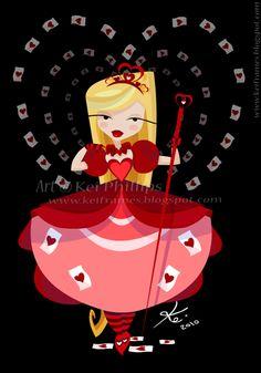 Una visión diferente de la Reina Roja...