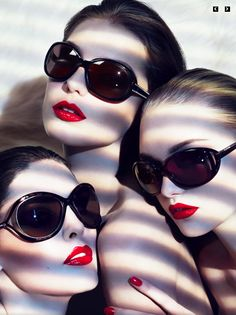 Red lips, Snow White skin. #beauty #makeup #red