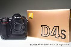 NIKON D4s Body 16.2 MP Digital Camera Shutter Count 15480 Excellent+ #Nikon