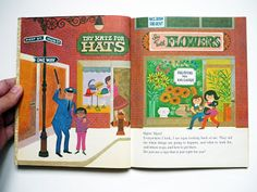 My Vintage Avenue !!! 50's and 60's illustrations !!!: Never Pat A Bear / A Book About Signs Illustrated By Art Seiden