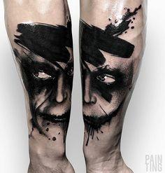 Szymon Gdowicz Pain Ting tattoo