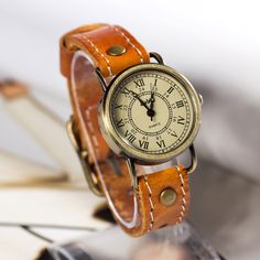 Stan vintage watches — Retro Leather Watch Vintage Style Wrist Watch (WAT00232)
