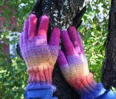 itsetehdyt sormikkaat, naisten koko (S/M).
